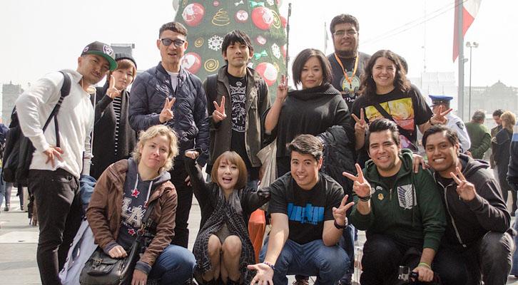 Anime en Japón - Eir Aoi en México