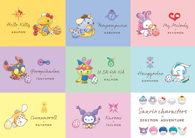 Digimon Sanrio
