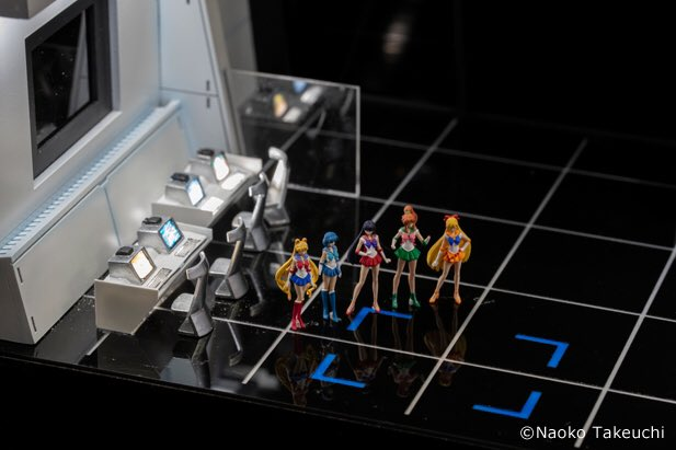 Small Worlds Tokyo - Sailor Scouts