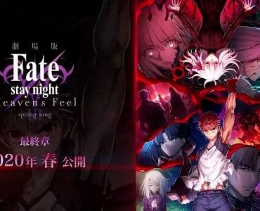 Fate stay/night: Heaven's Feel - portada