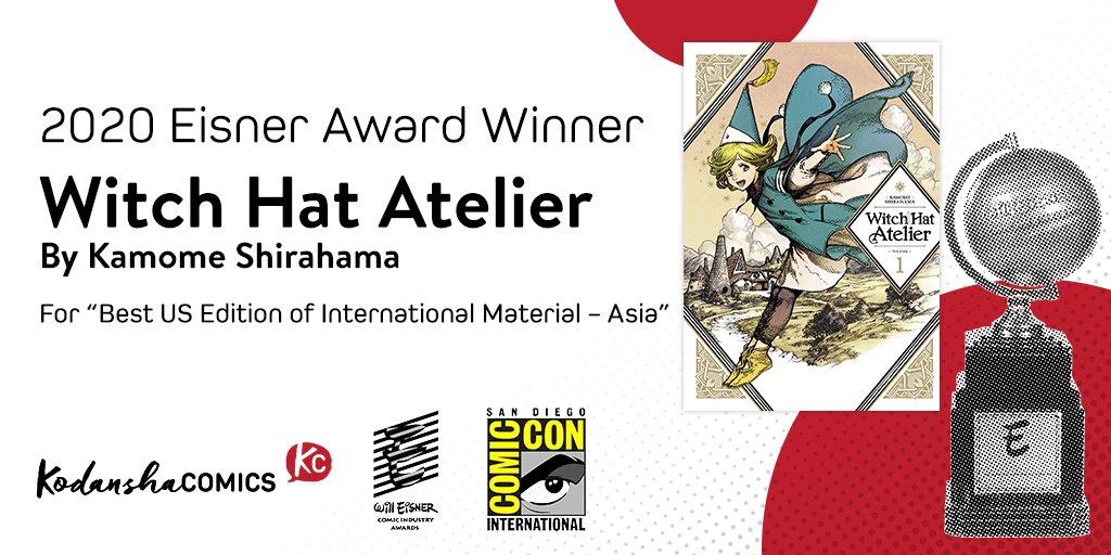 Premios Eisner 2020: Witch Hat Atelier
