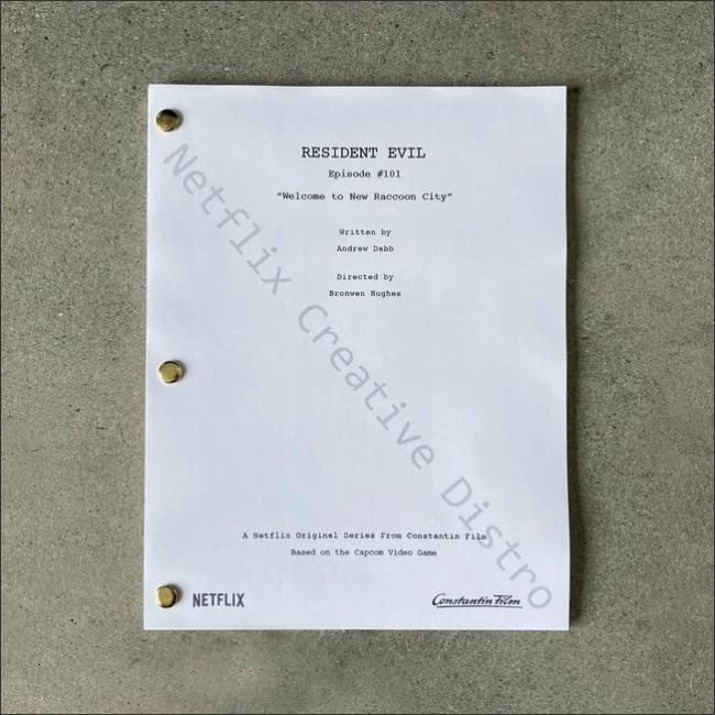 Resident Evil script