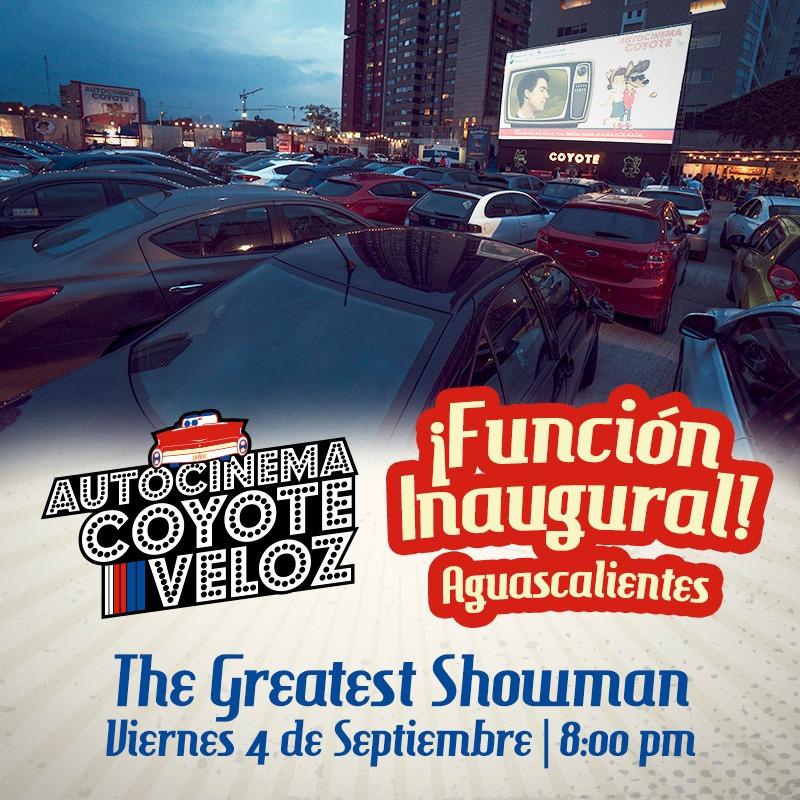 Autocinema COYOTE - Aguascalientes