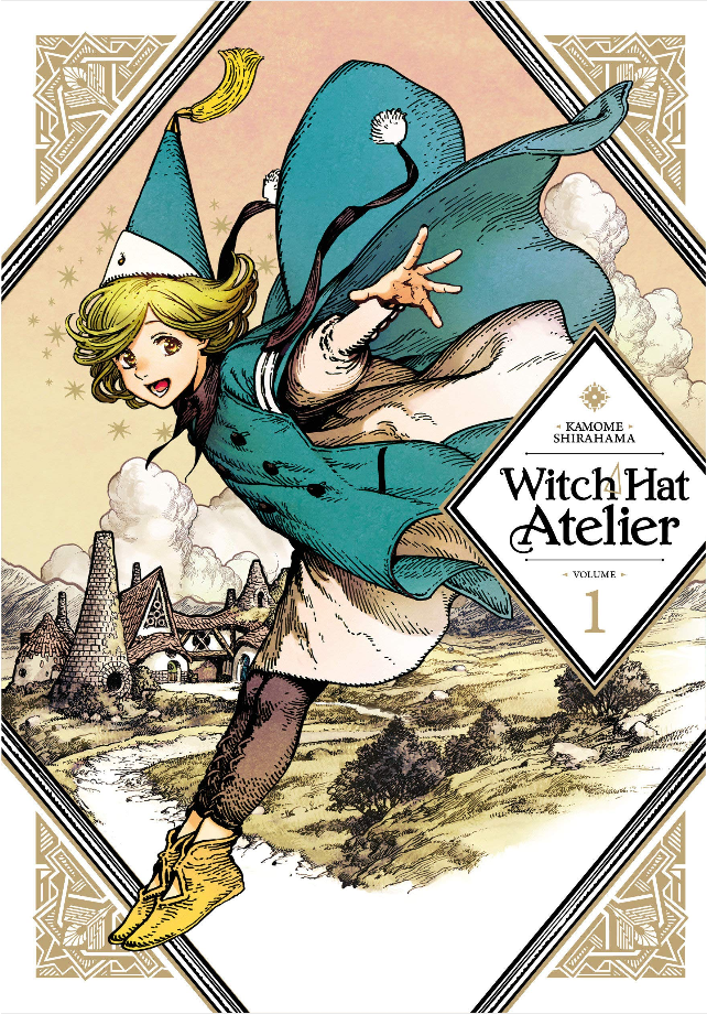 Witch Hat Atelier, nominado a los Harvey Awards
