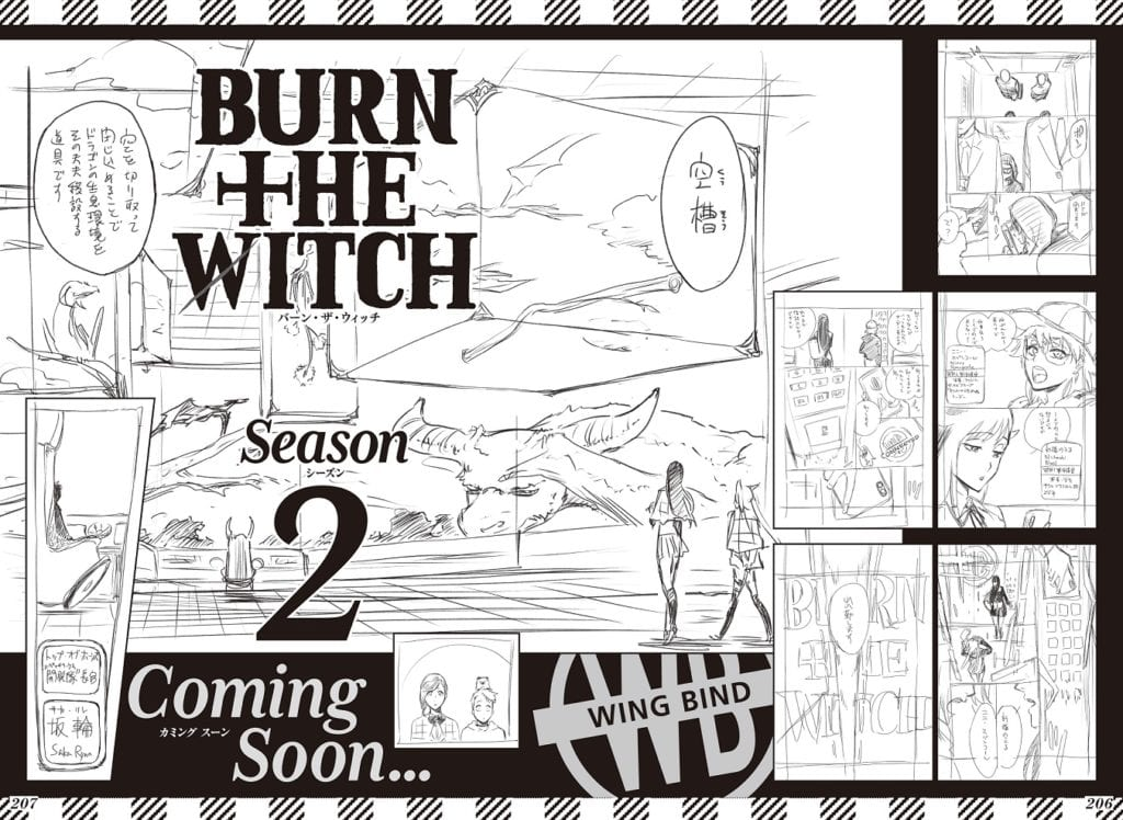 "El manga Burn the Witch anuncia su ""segunda temporada"""