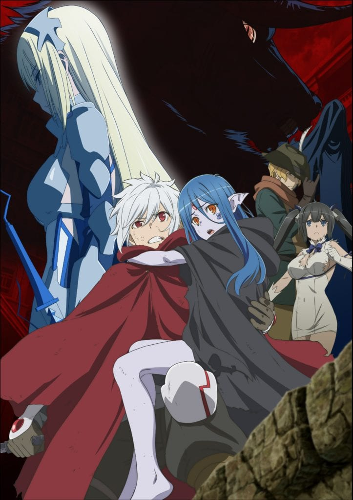 Imagen promocional de la tercera temporada de DanMachi