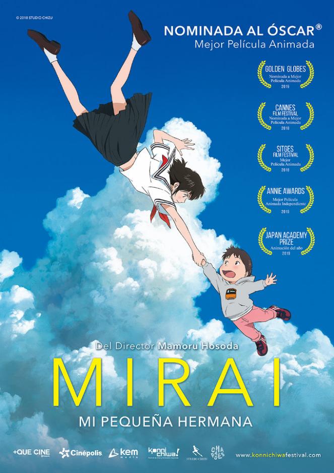 Mirai es la película más reciente de Mamoru Hosoda.