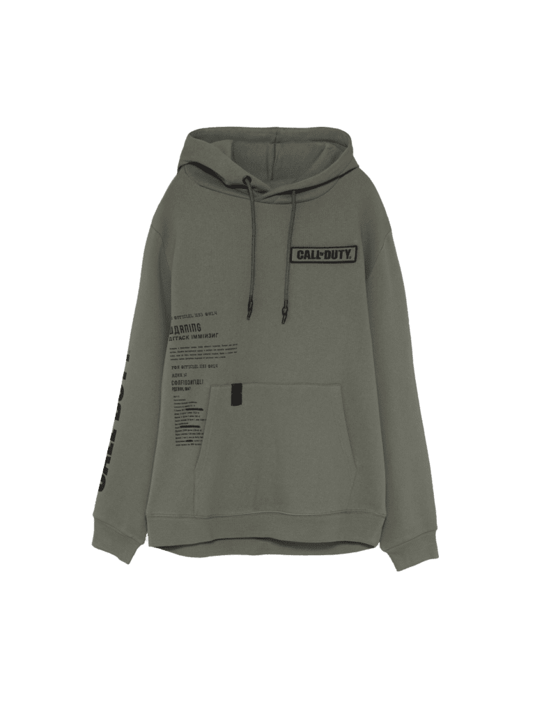 Call of Duty - sudadera verde