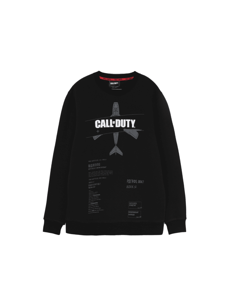 Call of Duty - sudadera gris