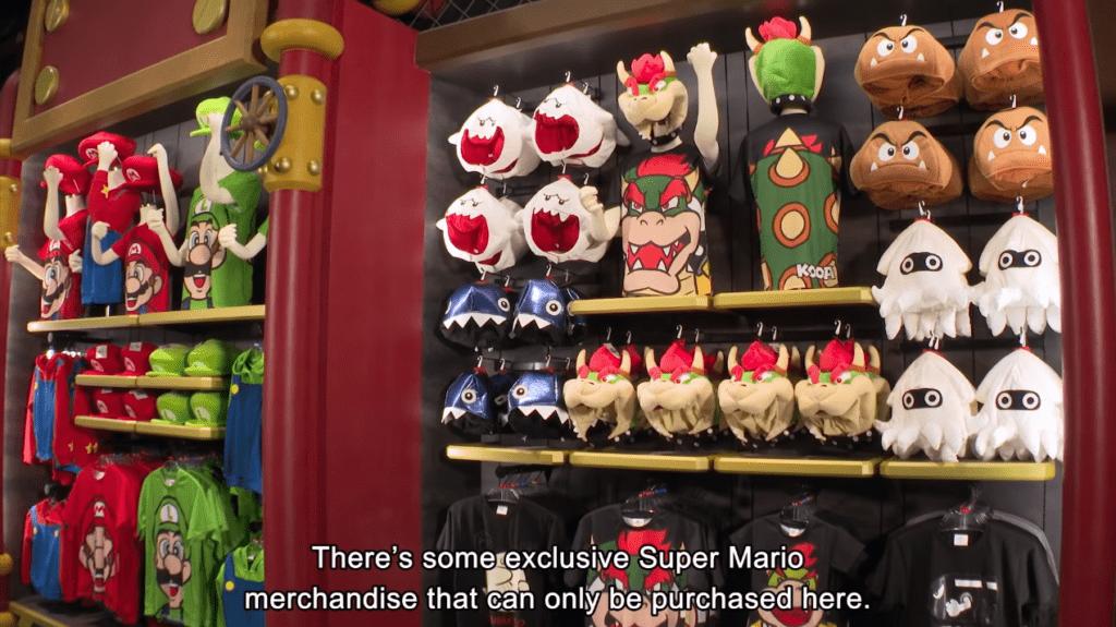 Super Nintendo World - merch
