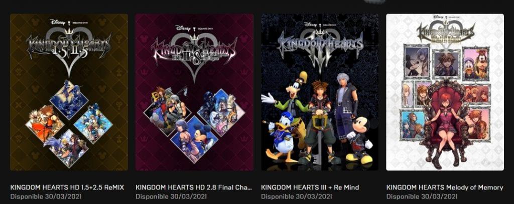 Kingdom Hearts - Epic Store