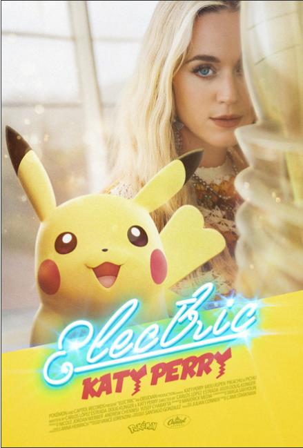 Pikachu y Katy Perry