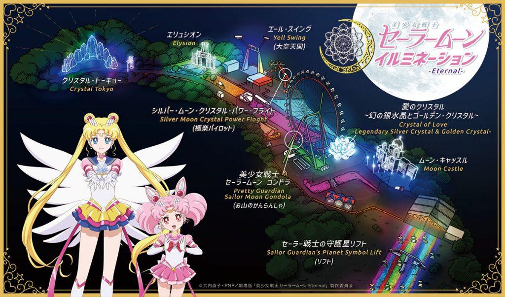 Sailor Moon - Map